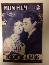 MON FILM N°526 1956 RENCONTRE A PARIS / ROBERT LAMOUREUX - BETSY BLAIR