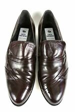 Carlo Morandi Men's Size 10.5 M Brown Leather loafers Dress Shoes