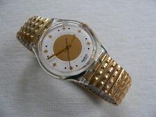 1992 Vintage Swatch Watch Golden Waltz GK142