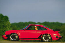 778028 Porche 930 Sports Car A4 Photo Print