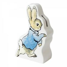 Beatrix Potter Peter Rabbit  Running   Money  Bank Box Baby Gift