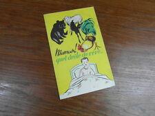 Brochure Prospect Vintage JIL BAS CHAUSSETTES carton decoupage ANIMAUX 1950