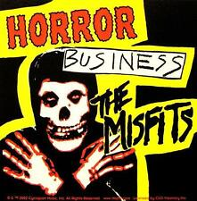 "MISFITS AUFKLEBER / STICKER # 35 ""HORROR BUSINESS"" - PVC - WETTERFEST"