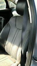 FORD FOCUS 2012-2014 CHARCOAL BLACK LEATHER FRONT DRIVER AND PASSENGER SEAT