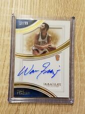 Walt Frazier 2015-16 Immaculate Shadowbox Auto Sp #10/99 Jersey Number