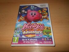 KIRBYS ADVENTURE - NINTENDO WII BRAND NEW SEALED PAL