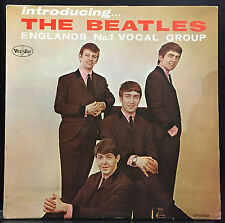 The Beatles Introducing LP VG+ 1964 Mono Vee Jay VJ VJLP 1062 Black Lbl Comma