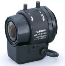4X FUJINON Auto Iris 2.9-8 Varifocal CS Mount Cctv Lens.Direct Drive. Aspherical