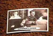 SUPERMAN TRADING CARD #64  TOPPS 1965 NM