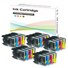 5 Sets Ink Cartridges for Brother LC980 DCP 145C 165C