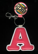 "JAPAN/CHINA: BIG ""A"" INITIALS KEY CHAIN WITH LOCK,JPOP,J-Pop,Teen,Cute,Kawaii"