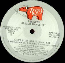 """Bee Gees He's a Liar 2 mixes - US DJ 12"""""""