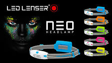 LED LENSER NEO LED HEAD LIGHT+90 lm+10m BEAM+BLUE+YELLOW+PINK