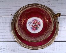Paragon Fine Bone China Red Vintage Teacup. Lovely!