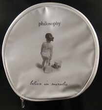 Philosophy MAKEUP/COSMETIC/TOILETRY Bag/Case BELIEVE IN MIRACLES + FREE SHIPPING
