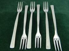 Retro 6 Dessert forks Viners Studio by Gerald Benney Stainless steel