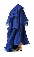 Three Layered Tiered Belly Dance Tango Samba Carnival Gypsy Skirt Fancy Costume