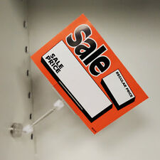 Magnetic Sign Holder Acrylic POP Sign Holder Clip - 10 pieces - Ships from US