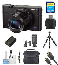 Sony Cyber-shot DSC-RX100 III Digital Camera (Black)!! PRO BUNDLE BRAND NEW!!