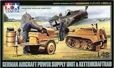 TAMIYA KIT 1:48 GERMAN AIRCRAFT POWER SUPPLY UNIT & KETTENKRAFTRAD  ART 32533