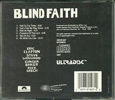 Blind Faith MFSL Gold CD U I Japan Erstpressung UDCD 507