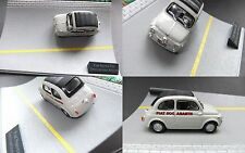 Fiat Nuova 500 Abarth  1:43  in  Mini-Diorama ..#702