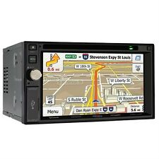 "Jensen 6.2"" Double Din Navigation Receiver DVD CD Touchscreen Monitor VX7020 B"