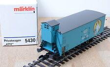 """Märklin 5430 Güterwagen Privatwagen """"4711"""" / Metallräder / Spur-1 / Unbespielt"""