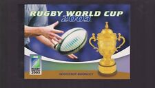 2003 Rugby World Cup Australia stamp souvenir booklet