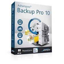 Ashampoo Back-Up Pro 10 deutsche Vollversion ESD Download !