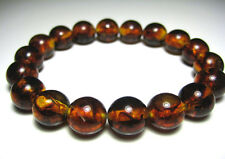 Round Beads Baltic Amber Bracelet 16.gr  12mm
