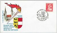 OLYMPIC GAMES  -  POSTAL HISTORY - AUSTRIA: Cover special postmark 1976  DRAGON