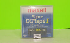 "NEW Maxell Super DLT Tape I 1/2"" Tape Cartridge 160GB 320GB SDLT"