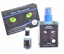 KIT PERFUME FEROMONAS HOMBRE pheromone perfum ATRAE MUJER JABON y PORTATIL