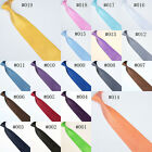 Wholesale Lot of 5 pcs Solid Stripe Ties Necktie Stylish Silk Neck Tie Brand new