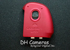 CANON POWERSHOT SX150 IS BATTERY DOOR Cover NEW AUTHENTIC Red A0781