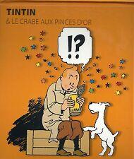 Tintin & Milou Le crabe aux pinces d'or album pop hop / pop hup Hergé