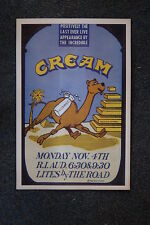 Cream Tour Poster 1969 Rhode Island Last Show Ever