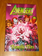 AVENGERS WEST COAST FAMILY TIES MARVEL COMICS GRIM REAPER GN 9780785162162