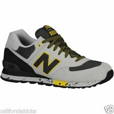NEW BALANCE 574 Men's Running Shoes sz 12 Grey Black 90's Outdoor Collection NEW