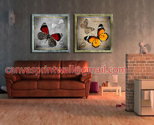 2 pieces Large Modern Art Wall Decor Abstract Canvas With Wood Frame 220