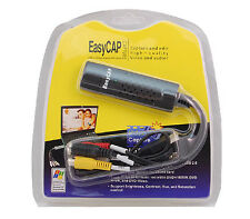 Easycap USB 2.0 Audio Video VHS to DVD PC Converter Capture Card Adapter