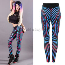 Womens Sports Gym Yoga Running Fitness Leggings Stretch Pants Athletic Trousers