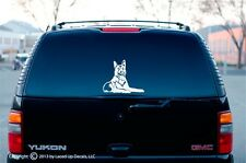 Malinois dog Vinyl Decal,puppy,belgian shepherd dog,Schutzhund,Ring,LG
