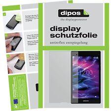 2x Medion LifeTab P8312 Schutzfolie matt Displayschutzfolie Folie dipos