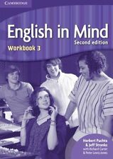 English in Mind Level 3 Workbook, Stranks, Jeff, Puchta, Herbert, Very Good cond