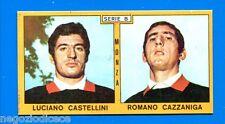 CALCIATORI PANINI 1969-70 - Figurina-Sticker - CASTELLINI-CAZZANIGA MONZA -Rec