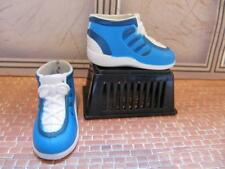 Ken Oliver Doll Clothes Fashion Acc~Blue White High Top Tennis Shoes w/Back Slit