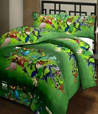 SA Collection's Ben10 PolyCotton Single Bedsheet with 1 Pillow Cover