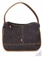 Levi's Red Tab Blue Jeans Denim Shoulder Bag Purse by YakPak Red Int EXC